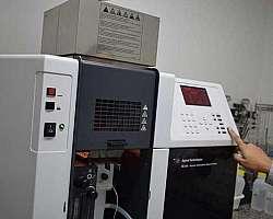Laboratório que faz análise de agua