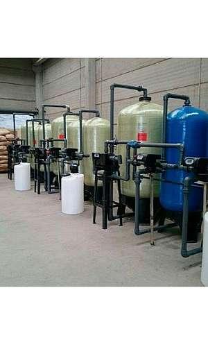 Abrandador de água industrial