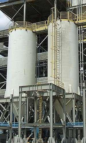 Aparelho de pesagem para silos