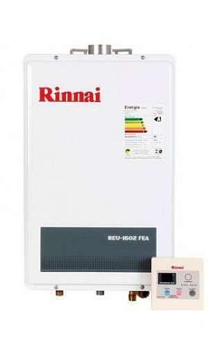Aquecedor de água a gás Rinnai