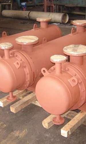 Aquecedor industrial de água