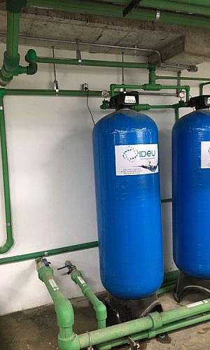 Desmineralizador de água portátil
