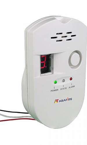 Detector de gás residencial