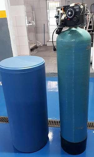 Filtro abrandador de água