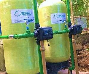 Filtro de água para poço artesiano