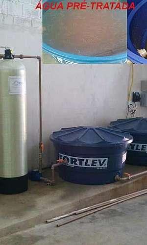 Filtro de água para retirada de ferro