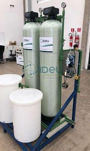 Filtro desmineralizador de água