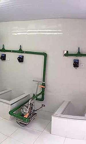 Filtro para remoção de ferro e manganês