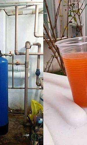 Filtro para retirada de ferro da água