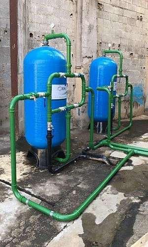 Filtro para retirar ferro e manganês da água