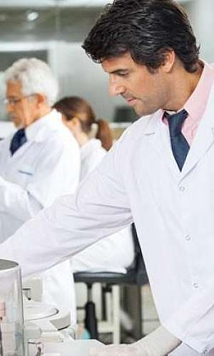 Laboratório análise de água