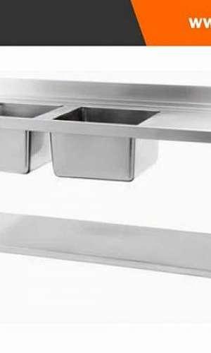 mesa de inox industrial