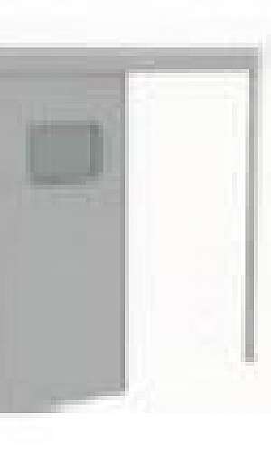 Porta automática hermética