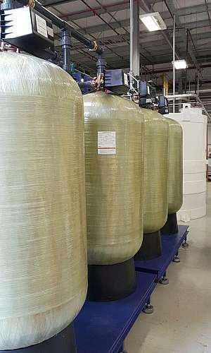 Resina mista para filtro deionizador