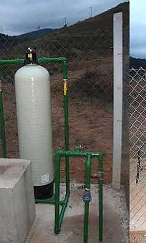 Sistema de filtração de água de poço