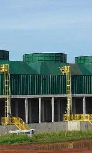 Torre de resfriamento de água industrial