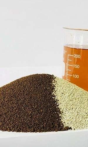 Zeólita para remoção de matéria orgânica